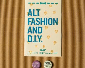 "Alt Fashion & DIY: ""Special Edition"" Zine Pack"