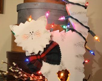 Light Up Christmas Cat