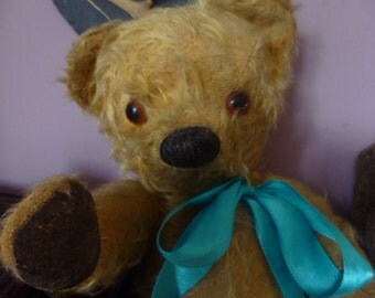 Well loved vintage Chad Valley Bear