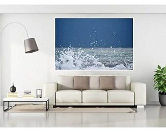 Abstract Water Photography, Ocean Splash, Beach photos, Beach Photography, Water splash photos, Water Abstract home decor,Sea Photos
