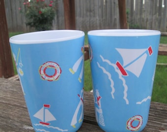 Pair of two Barn Dandy's by Polly Wilson Kid Cups