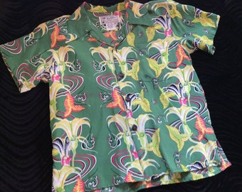 Avanti Hawaiian Shirt - Kids