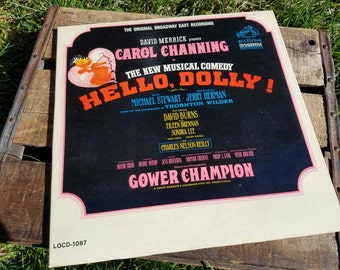 "Vintage ""Hello, Dolly!"" Original Broadway Cast Record - feat. Carol Channing and Charles Nelson Reilly"