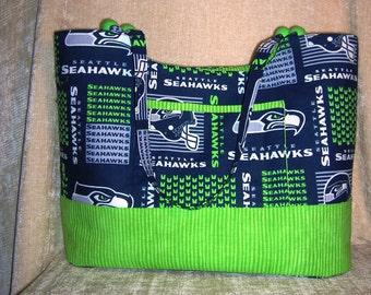 """Seattle Seahawks tote bag- """"Sadie"""""""