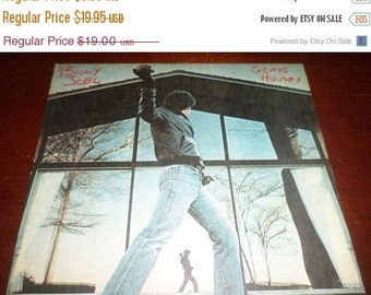 Save 30% Today Vintage 1980 LP Record Billy Joel Glass Houses Columbia Records 36384 Very Good Condition 2342