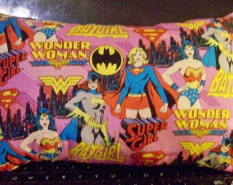 GIRLS SUPER HEROES Pillow! - Several Sizes!