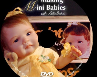 DvD MaKiNg MiNi BaBiEs WiTh KeLLie BeCkEtt ~ SCULPTING SUPPLIES