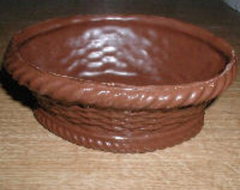 Oval Basket 3D Assembly Chocolate Mold