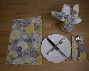 Cloth/Cotton Handmade Napkins – Set of 4