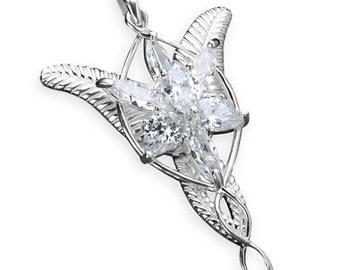 1 x Arwen's Evenstar CHOOSE pendant OR necklace