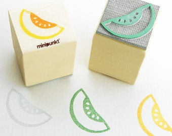 Stamp with honeydew melon