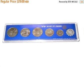 SALE Israel official mint set 1973,six coin set