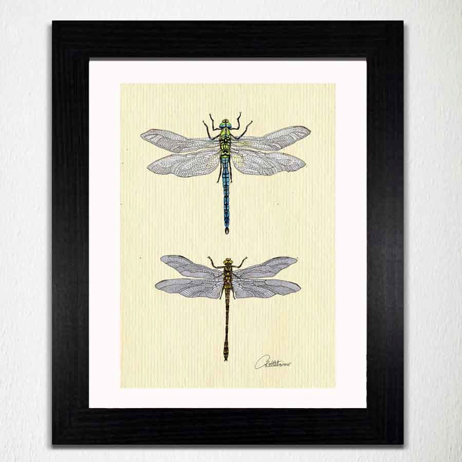 Dragonfly wall art dragonfly painting dragonfly artwork for Dragonfly wall art