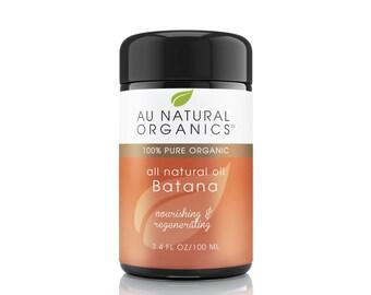 Batana Oil Natural Hair Repair Use on Dry and Damaged Hair 3.4oz (100ml)