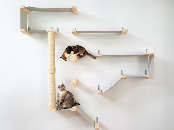 Cat hammock shelf