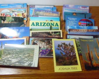 Group of Post Cards.   These are themed to the Southwest, and Arizona in particular.