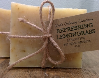 Lemongrass Soap Bar (Vegan/All Natural)