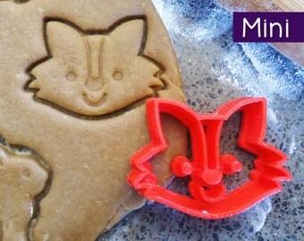 Mini 3D Printed Fox Cookie Cutter