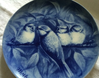 Robin Redbreast 1972 Mothers Day Plate