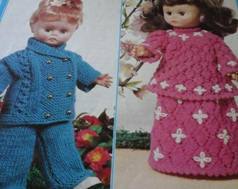 vintage dolls outfits pattern