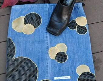 Shoes jeans bubble bag