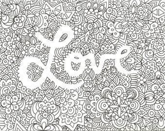 Love Doodle Print