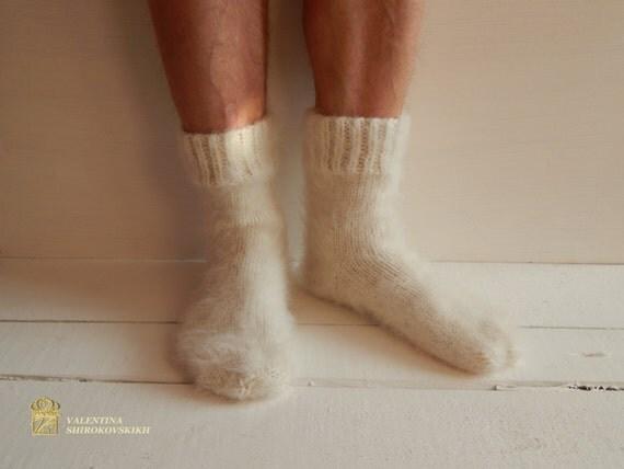 Men's Socks. Gift for Dad, Gift for Men, Fathers Day. Hand knit slipper socks, Knitted Wool Socks, socks for home, socks for sleep