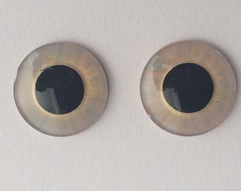 Hand painted eye chips