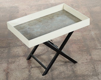 Mid century Modern Designer Folding Tray Table