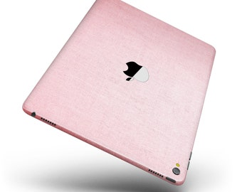 The Pink Ombre Scratched Service Full Body Skin Decal for the Apple iPad Pro, Air or Mini (All Models Available)
