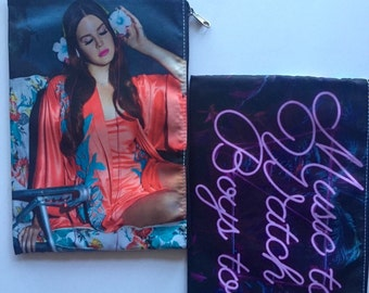 Lana Del Rey Music To Watch Boys To Cosmetic Bag (large)