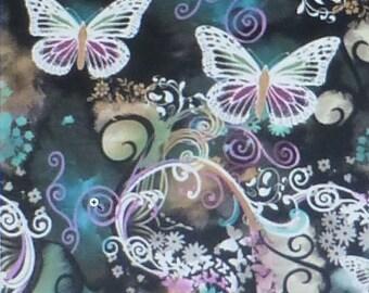 Filigree Flutter-Butterflies by Michael Miller~Cotton Fabric, Quilt, Home Decor~CX3406~Fast Shipping N271