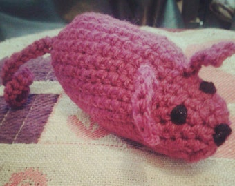 Crochet Catnip Cat Toy