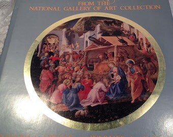 An Illustrated Life of Jesus From The National Gallery of Art, 1982, FIRST EDITION, 94 Masterpieces with Intrepretations of Events.