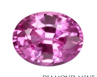 2.02 Carat Pink Sapphire, Oval cut Sapphire, Loose Sapphire Gemstone, Pink Gemstone, Non Heated Real Sapphire