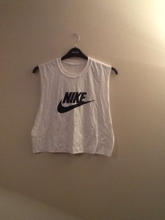 3f99a800a39b75 hot sale 2017 Diy customised nike crop top tank top t shirt by  mysticclothing