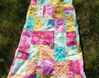 Patchwork dresses, skirts and pants!