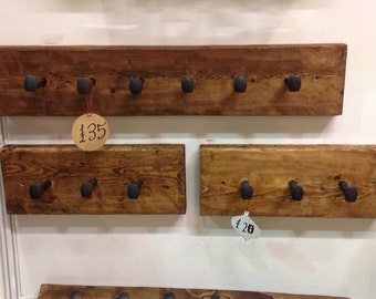 Railroad spike coat hook order before 21/12/17 for christmas delivery