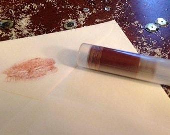 Lipstick, Organic Peppermint Lipstick, Liptint, Lipstick, Organic Lipstick, Organic Makeup, Vegan Lipstick