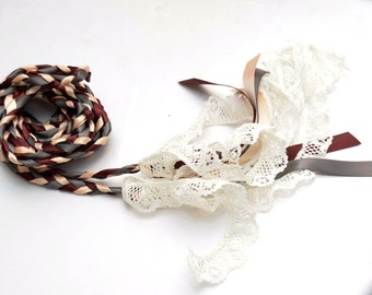 Wedding Handfasting Cord ~ Lace ~ Celtic Wedding ~ Handfasting ~ Vows