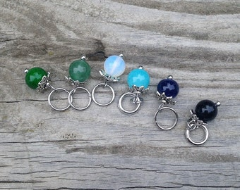 Winter Stitch Marker Set