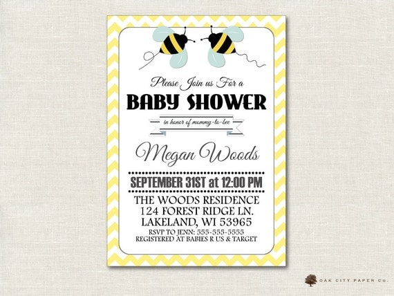 bee baby shower invitation bee baby shower invitation bumble bee