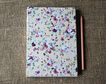 Fabric wedding guest book (A5)