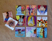 Birth Mantra Meditation Deck/ pregnancy/ birth/ meditation/ doula/ midwife/ blessingway gift/ blessingway/ gift for midwife