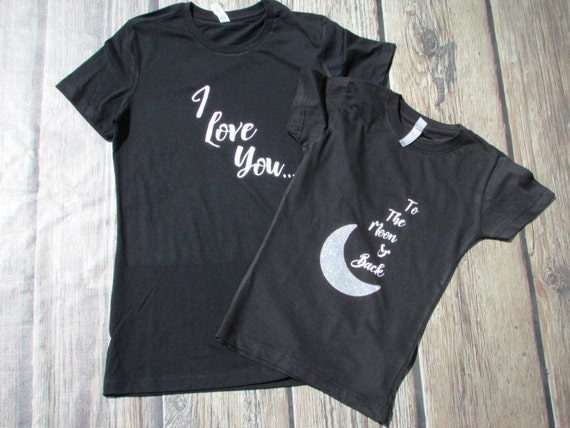 Mother Daughter Shirts Mother's Day Shirts Love you to