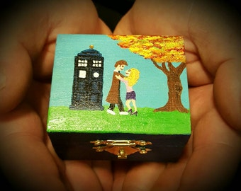 Doctor Who Ring Box Tardis and Rose