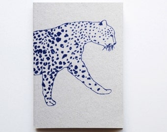 Leopard Notebook/Sketchbook A6