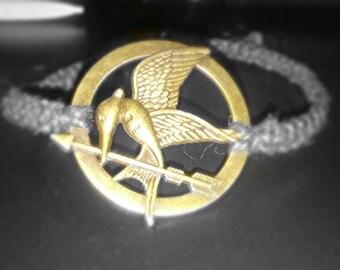 Mocking Jay hemp bracelet