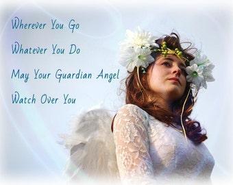 Guardian Angel Fairy 5x7 photos