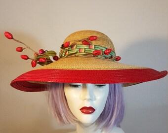 FREE  SHIPPING   Adolfo  Hat